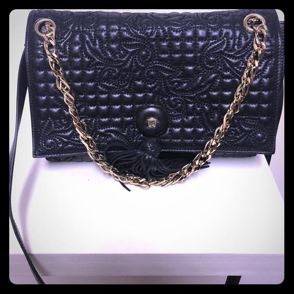 Versace Bags   Quilted Vanitas Shoulder Bag   Poshmark 0904a62822
